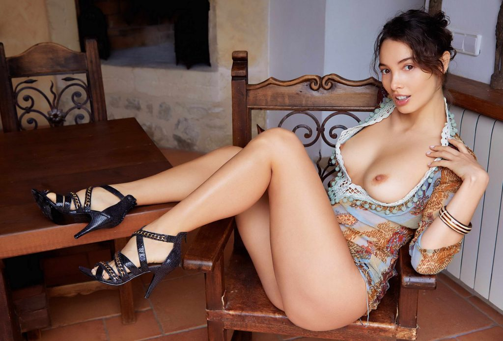 Young Naughty And With Beautiful LEgs